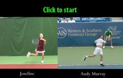 The Extreme Make-Over Forehand - Movie 1