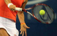 One-handed Backhand