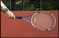 Forehand - Continental Grip - right-handed