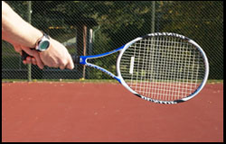 Backhand – Dominant hand continental – Nondominant mid-semiwestern – left-handed