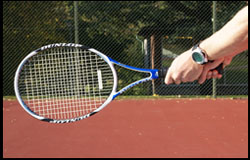 Eastern Backhand Grip - right-handed