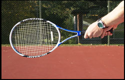 Backhand – Dominant hand continental – Nondominant mid-semiwestern – right-handed