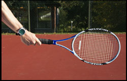 Eastern Forehand Grip - right-handed