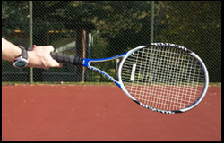 Western Forehand Grip - right-handed